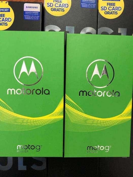 Moto G7 Power 64gb Nuevos!