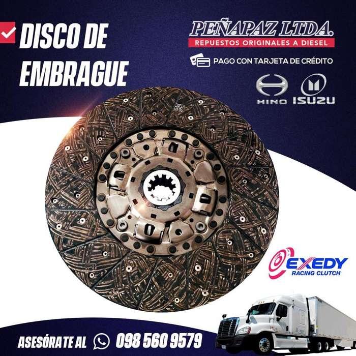 DISCO DE EMBRAGUE