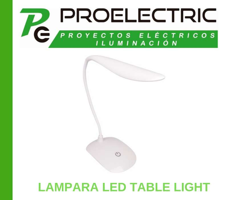 LAMPARA RECARGABLE DE ESCRITORIO LED TABLE LIGHT