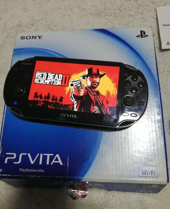 Vendo Psp Vita con 3 Juegos Originales