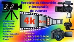 FOTOS Y FILMACIÓN PARA TODO TIPO DE EVENTOS CEL: 989715686
