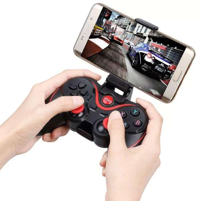 Joystick para PC Tablet Celular recargable inalámbrico Bluetooth