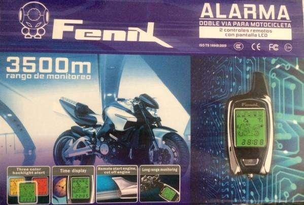Alarma Doble Vía Moto