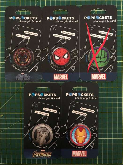 Popsocket Peru Original Marvel