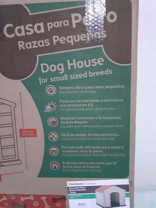 Casa Casita para Perro Nueva