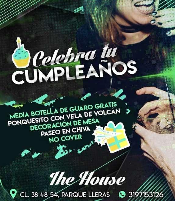 Paquete de Cumpleaños en The House