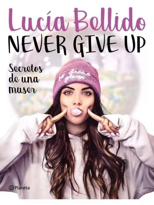 Never Give Up, Libro Autografiado.