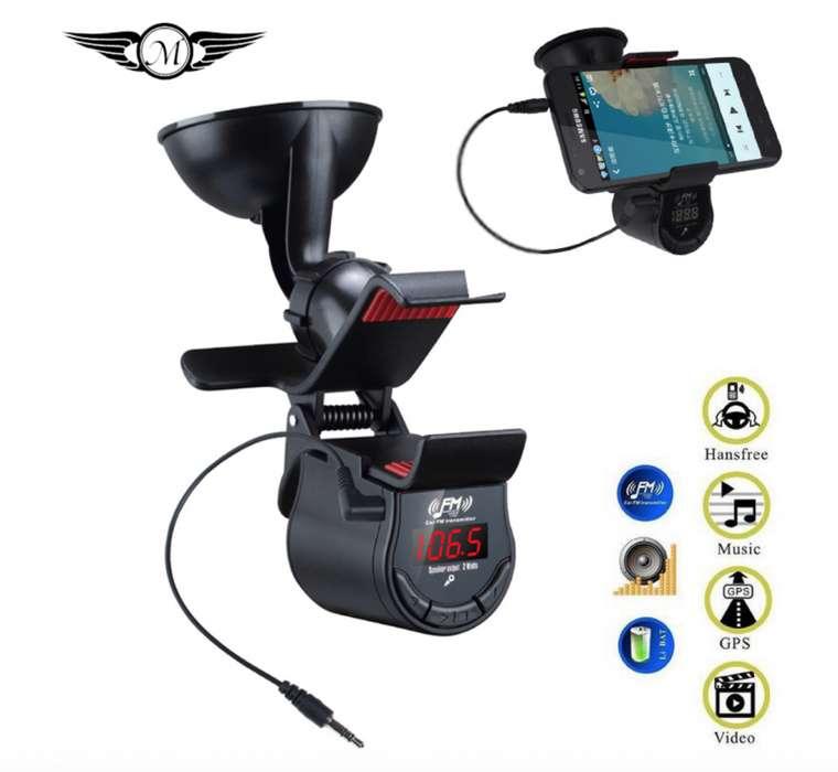 Transmisor Fm Con Soporte Para Teléfono Bluetooth Gruponatic San Miguel Surquillo La Molina Independencia 941439370