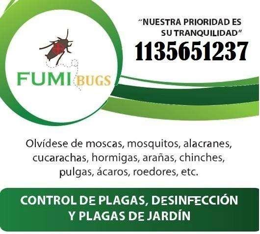 fumigaciones desratizaciones zona sur sin toxicos 1122660429