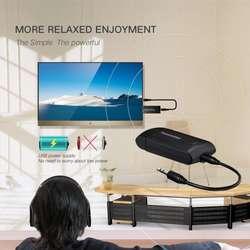 Transmisor de señal bluetooth 4.0 adaptador de audio, para TV, teléfono, pc