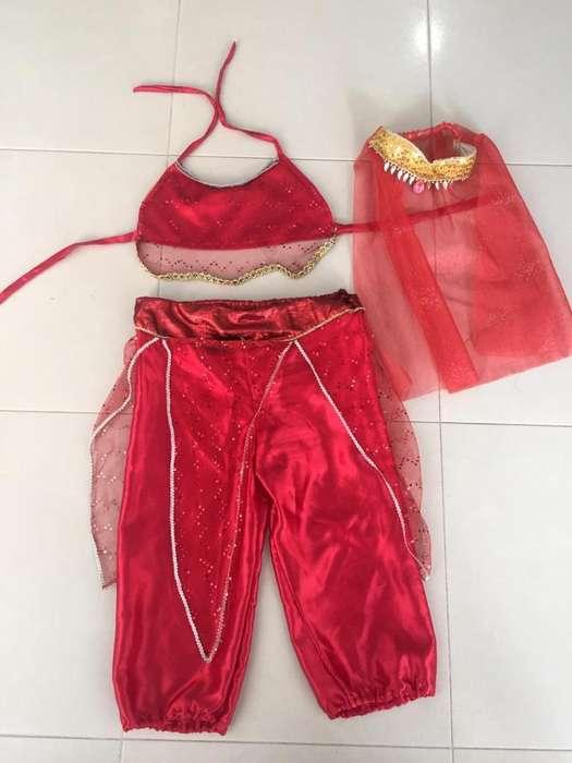 Disfraz de Bailarina Árabe Usado