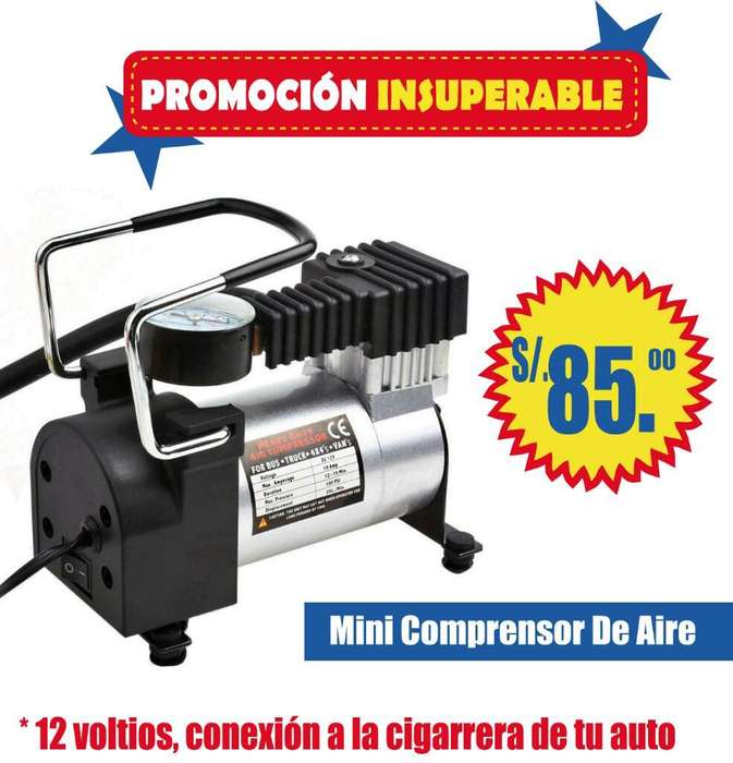Mini Comprensor de Aire