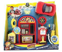 GAS STATION PLAYSET