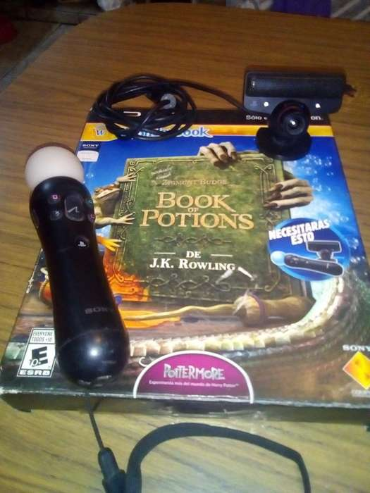 Play Move Ps3 Y Juego Book Of Potions