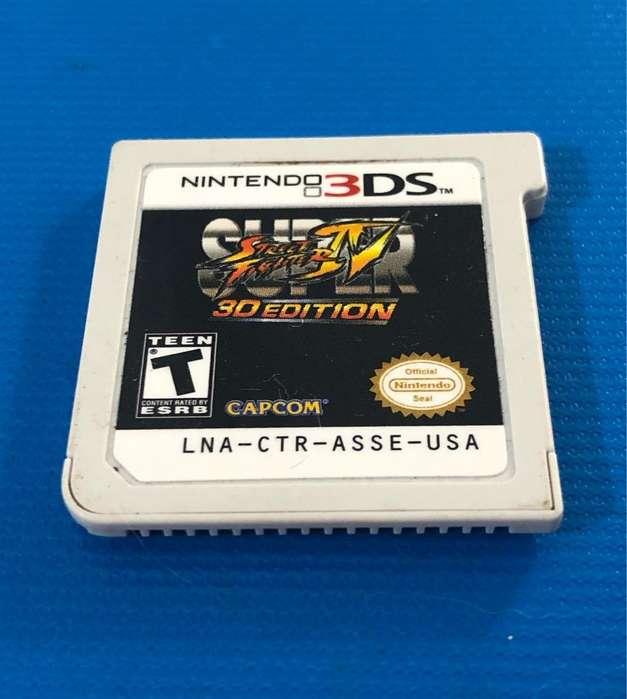 Juego Nintendo 3Ds Super Street Fighter