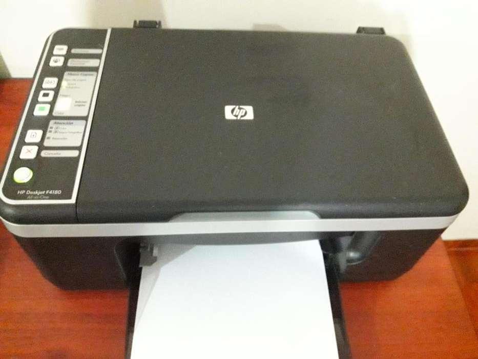 <strong>impresora</strong> Multifuncional Hp Deskjet F4180