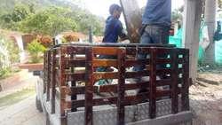 Acarreos. Servicio Transporte en Bucaramanga, Piedecuesta, Floridablanca, Girón.