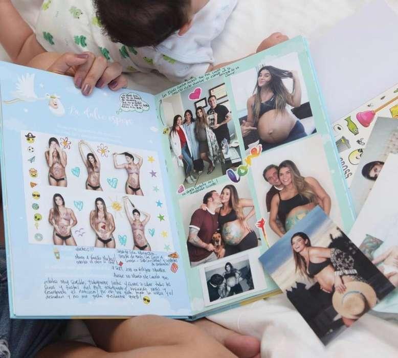 Album de Recuerdos Del Bebe Hola Bebe