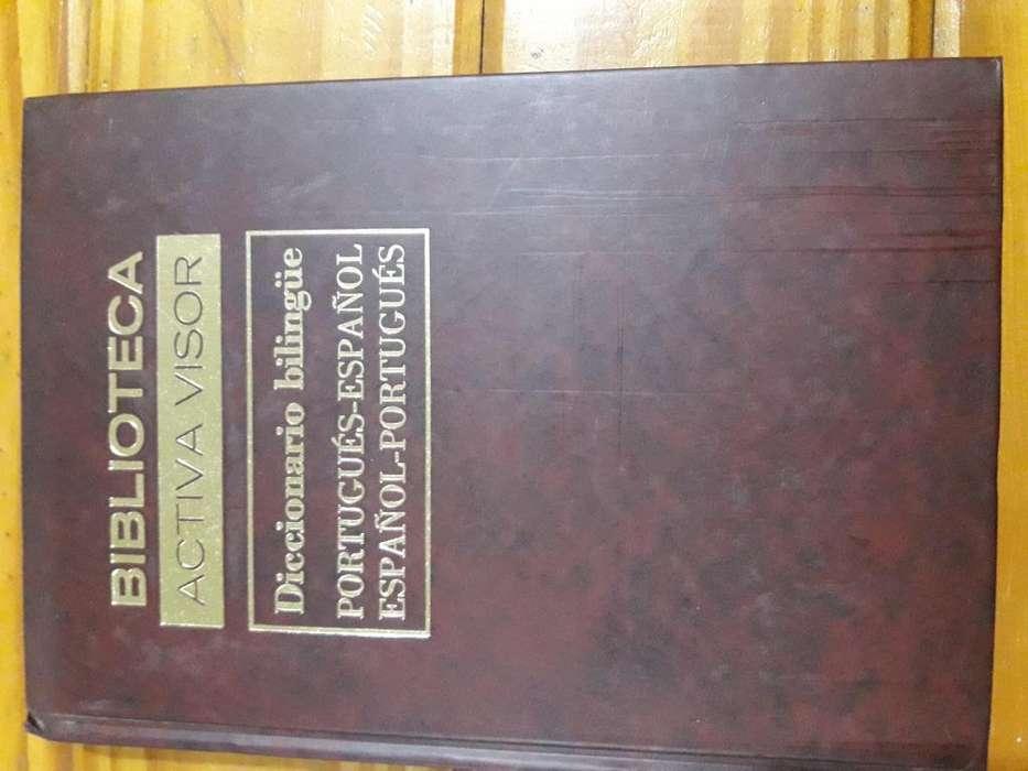 Diccionario bilingüe portugués español. Enciclopedia Universal Activa Visor