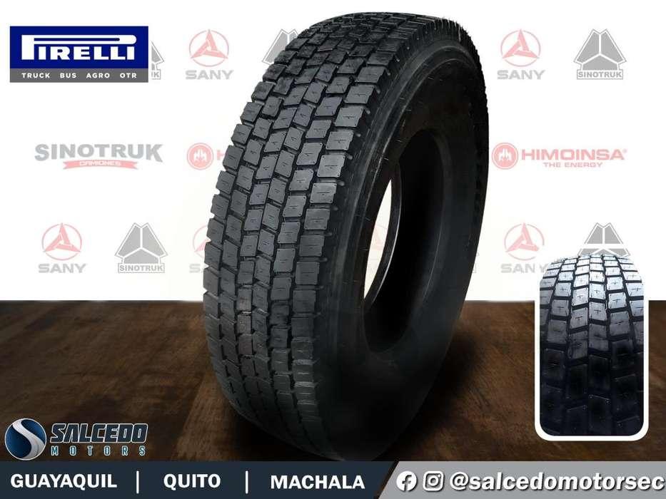 <strong>llantas</strong> Formula Pirelli de Tracción 295/80R22.5