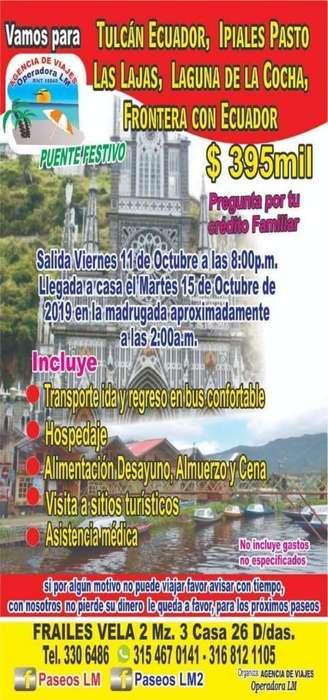 Gran Paseo Paseo a Ecuador Muy Económico