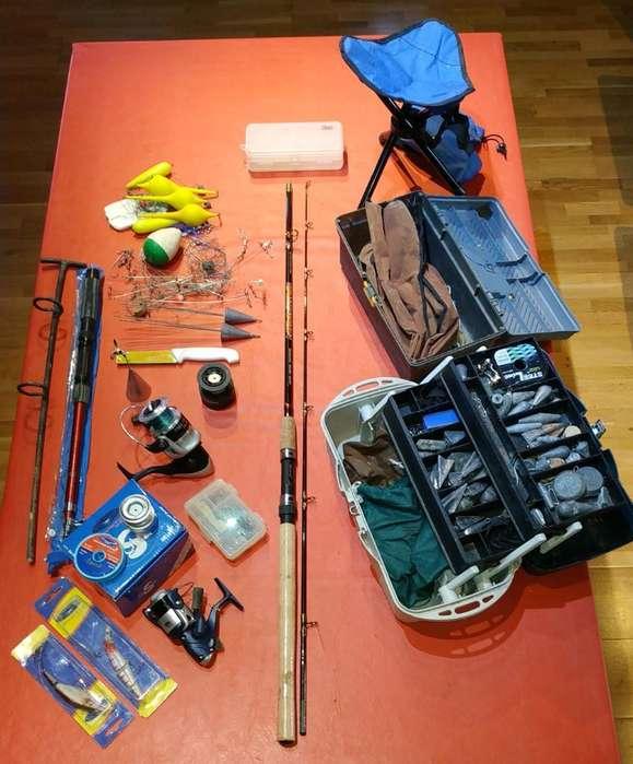 Kit Completo para Pesca Increíble