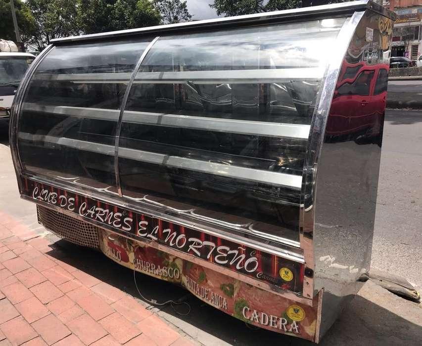 Nevera <strong>congelador</strong> Moderna Carne Pollo