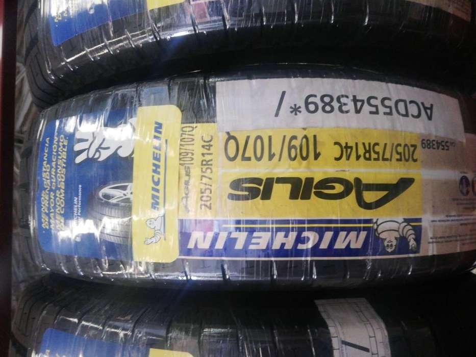 Llanta Michelin 205 75 R14C