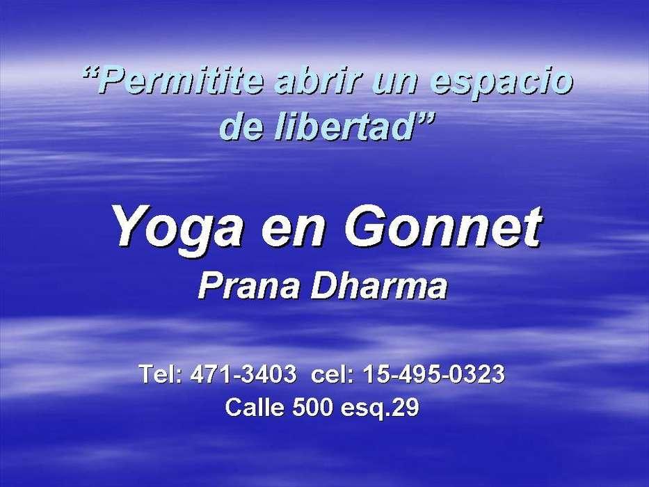 Clases de yoga en Gonnet