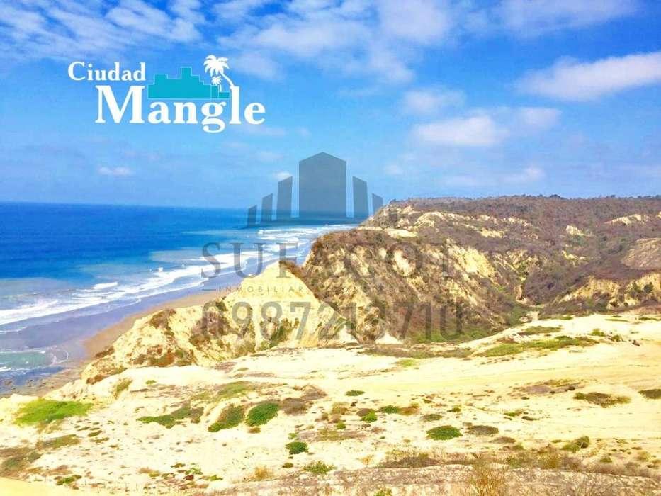 Lotes Frente al Mar en Venta, Ruta Spondylus 35 min de Manta, Financiamiento Directo, Observa las Ballenas SD1