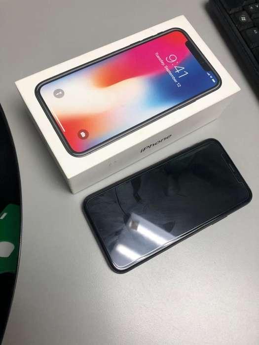 Se Vende iPhone X 256 Gb Gris Spacial.