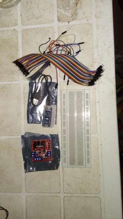 Arduino Nanoprotoboardpotenciador