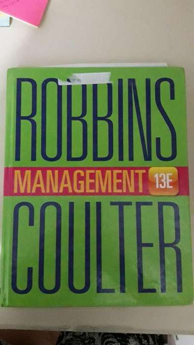 Pearson Management 13 E por Stephen P. Robbins and Mary Coulter
