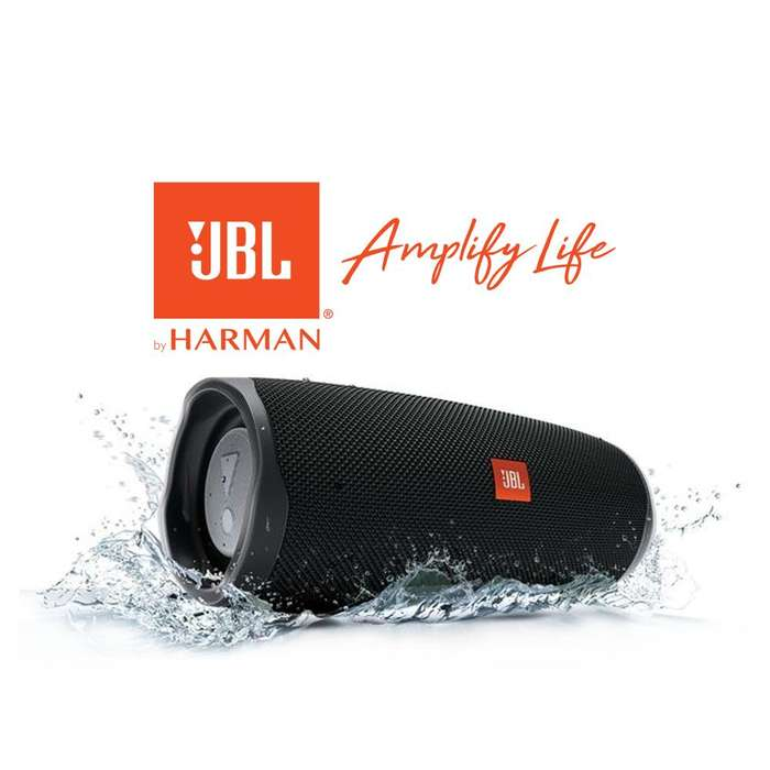 Parlante Bluetooth Jbl Charge 4 Negro Sumergible 20h Ipx7