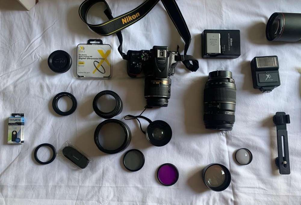 Camara Nikon D5500