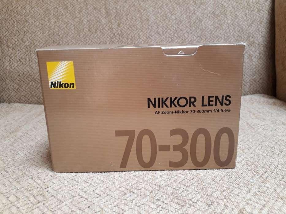 Lente Nikon 70 300