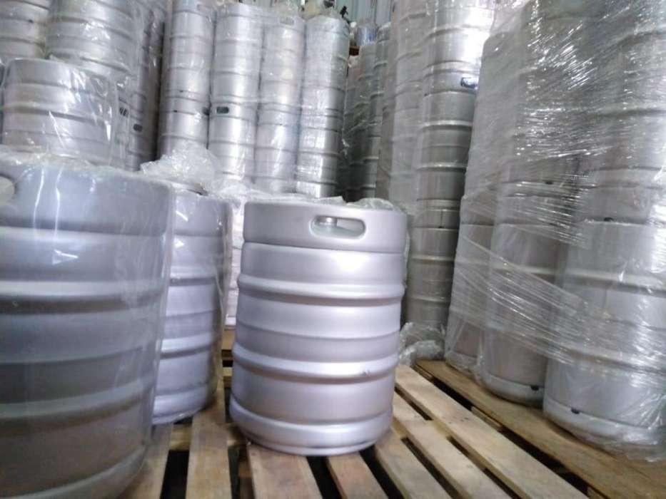 Barril para Cerveza Acero Inox 50Lts Euro - TipoG MICROMATIC