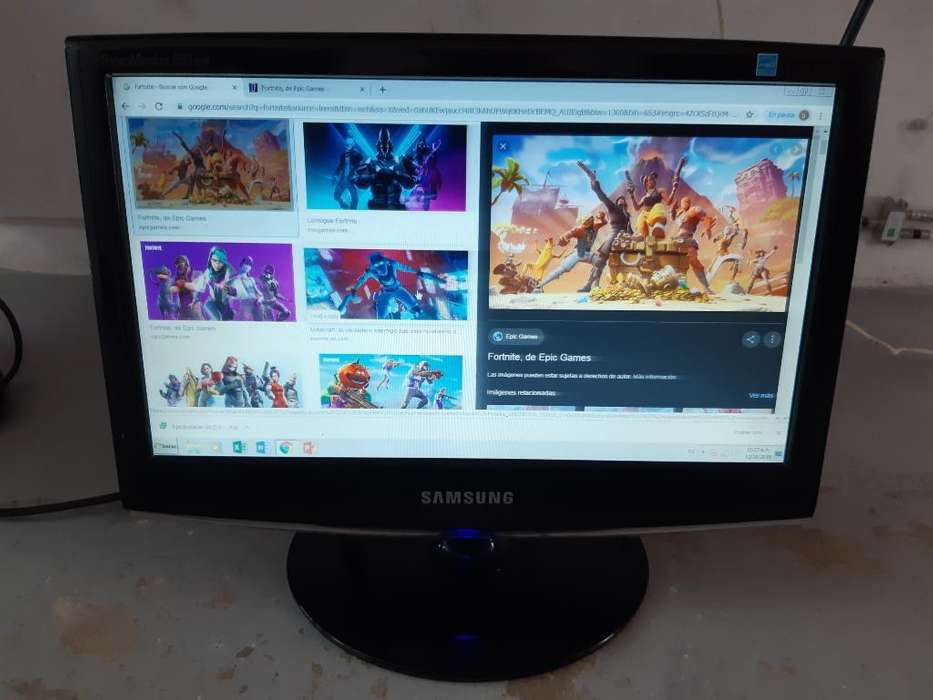 Vendo Monitor Pc Samsung 16 Pulgadas