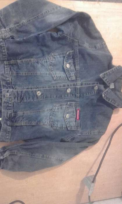 Campera de Jeans Talle 10