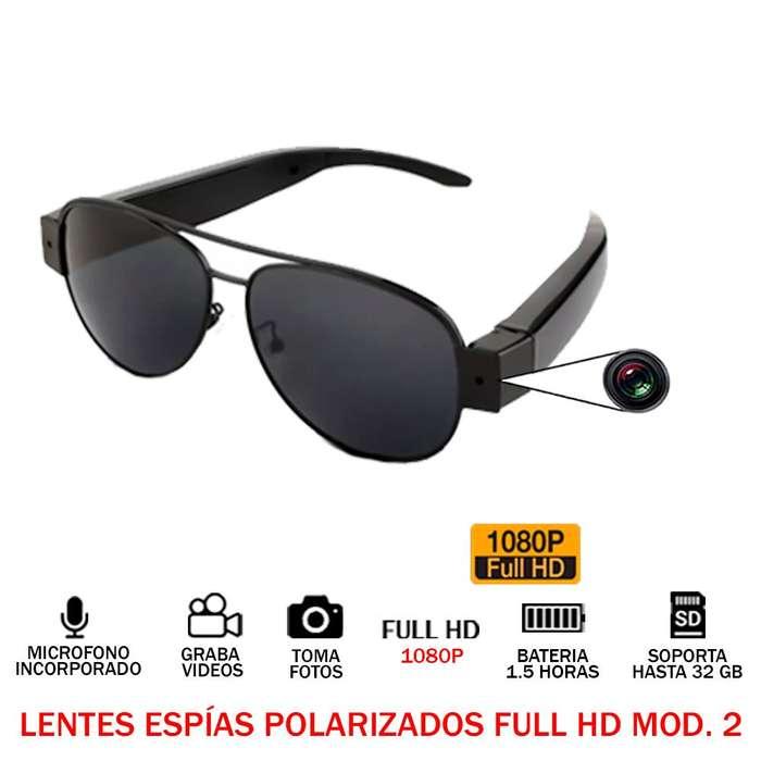 Lentes Espias Gafas Polarizadas Full Hd 1080p 32gb