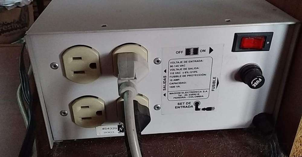 Vendo Regulador de Energia