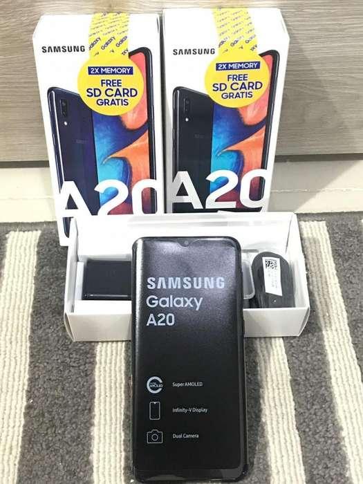 Samsung A20 32 Gb Al Mejor Precio Garantizado