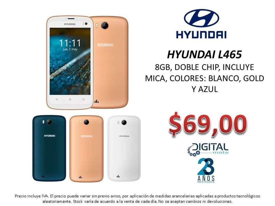 HYUNDAI L465, 8GB, DOBLE CHIP