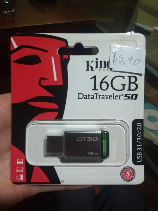 Flash Dirver Usb Memoria 16gb Kingston