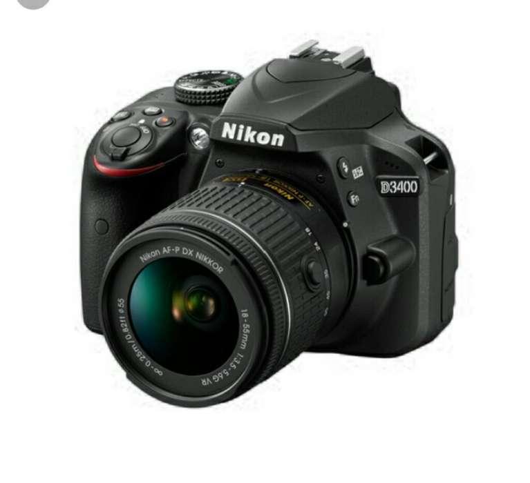 Vendo Camara Nikon D3400