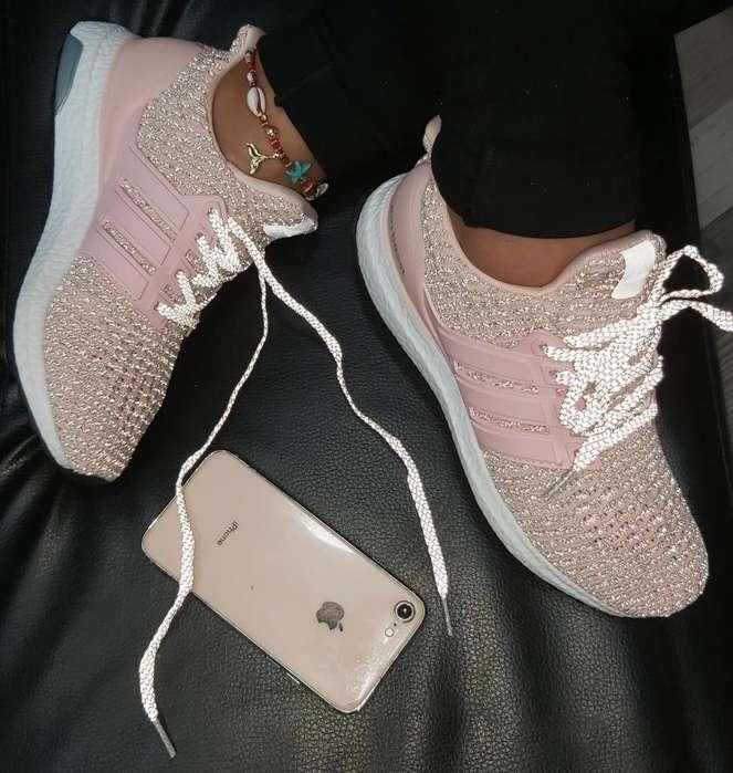 Zapatillas Adidas Ultrabost Cristal Dama Mujer Domicilios Cali