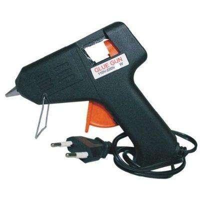 Pistola Calor Para Barrita Silicona Hot Melt Pegamento Caliente Grande 40w