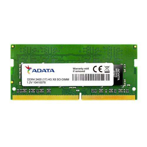 Memoria Ram Adata Ddr4 4g So-dimm 2400 Flame