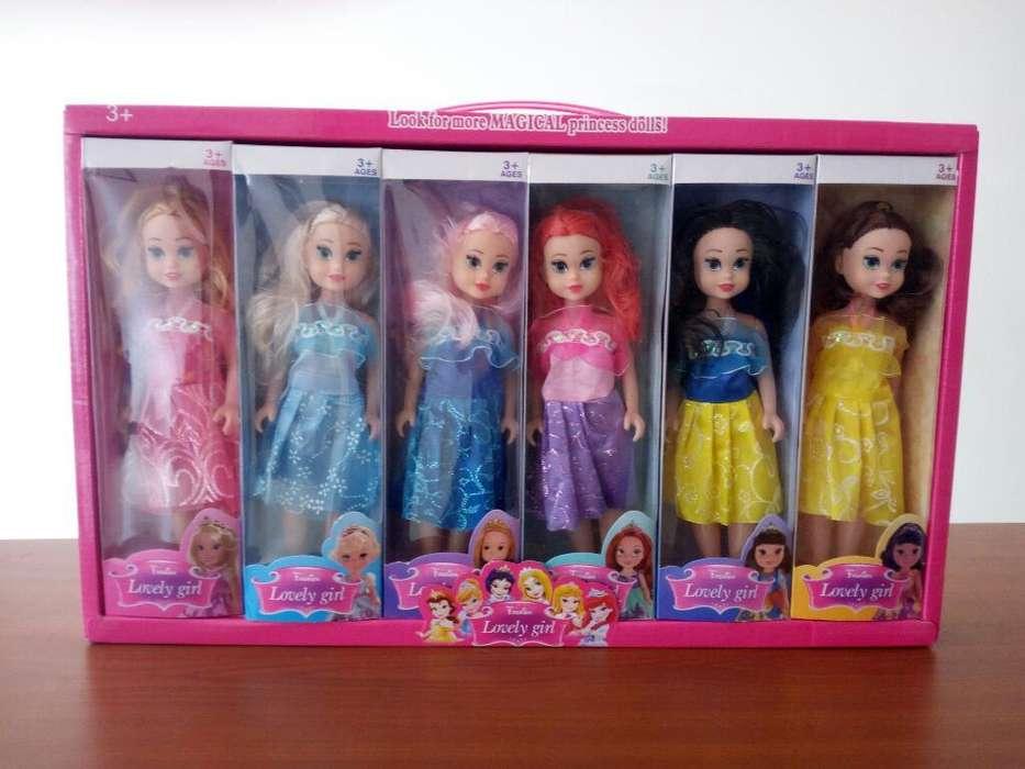 Colección Muñecas Princesas Disney