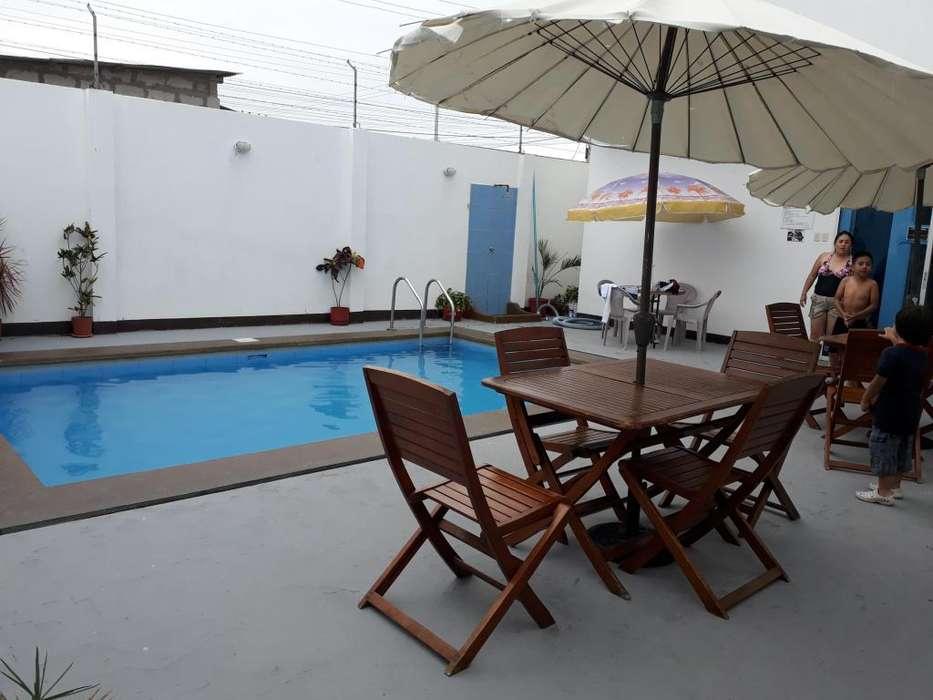 Acogedor hotel familiar a 5 cuadras del Malecon de Salinas